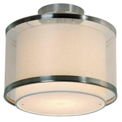 Lux Medium Semi Flush Mount Product Photo