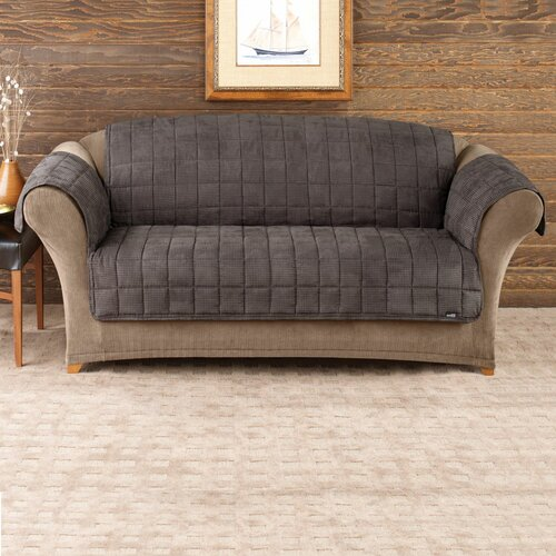 Sure Fit Deluxe Pet Comfort Sofa Cover & Reviews