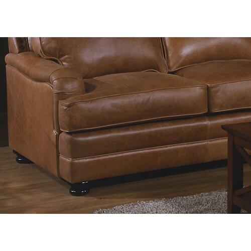 Omnia Furniture Pantera Leather Sectional Reviews Wayfair