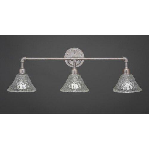 Comvintage Bathroom Lights : Vintage 3 Light Bath Bar by Toltec Lighting
