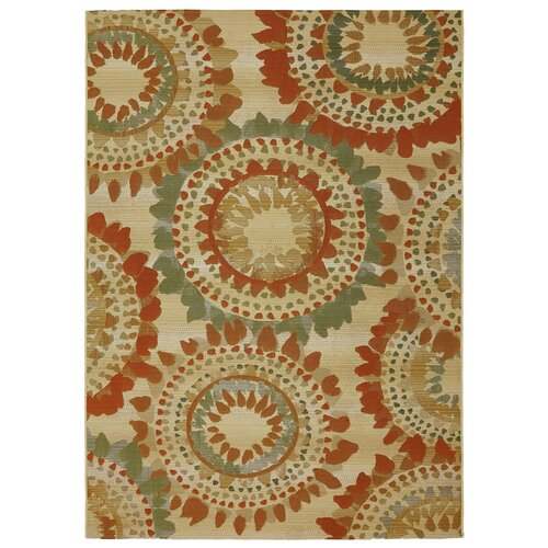 Mohawk Home Voyage String Theory Barbados Burst Area Rug