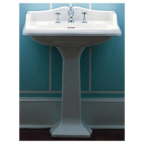 Large Pedestal Sink : ... China Large Traditional Pedestal Bathroom Sink with Rectangular Basin