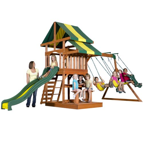 Furniture Deals Independence: Backyard Discovery Independence Swing Set & Reviews
