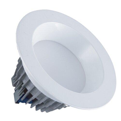 led round downlight retrofit light 7 5 recessed trim by deco lighting. Black Bedroom Furniture Sets. Home Design Ideas
