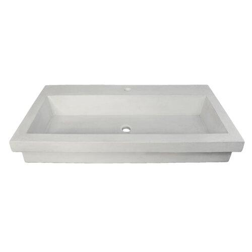 Stone Trough Sink : Home Improvement Bathroom Fixtures ... Native Trails Part #: NSL3619-P ...