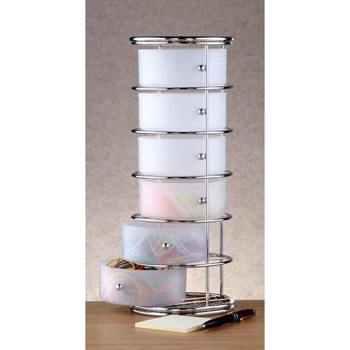 6 drawer plastic storage tower 2