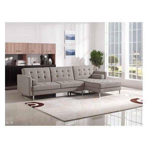 VIG Furniture Divani Casa Sectional & Reviews  Wayfair