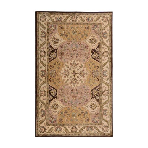 Patra brown area rug wayfair for Accent rug vs area rug