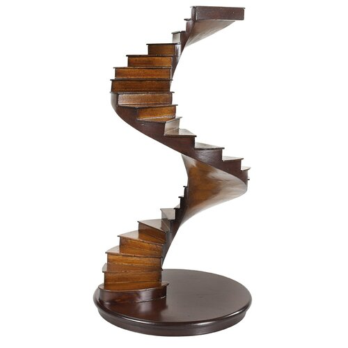 Spiral Stairs Sculpture by Authentic Models