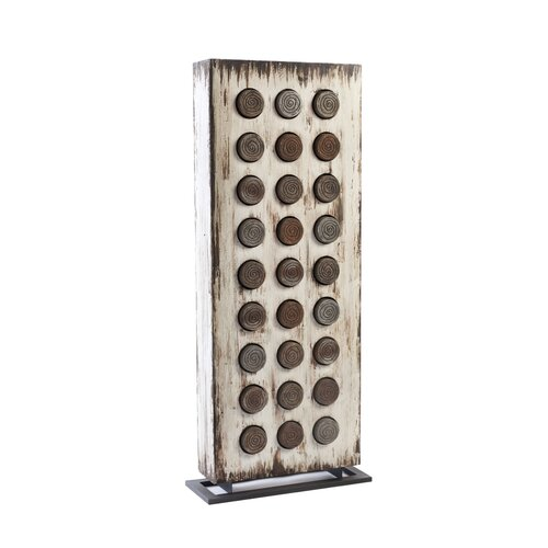 Weathered Floor Accent Box Sculpture by Phillips Collection