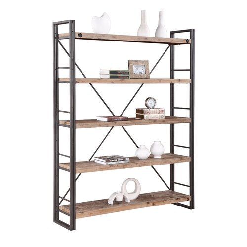 moe 39 s home collection brooklyn 74 8 etagere reviews. Black Bedroom Furniture Sets. Home Design Ideas