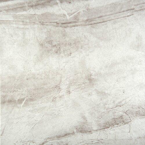 """Bianco Porcelain Tile: Eurasia 13"""" X 13"""" Porcelain Tile In Bianco"""