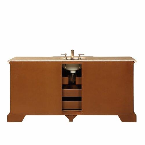 Silkroad Exclusive 72 Single Sink Bathroom Vanity Set Reviews Wayfair