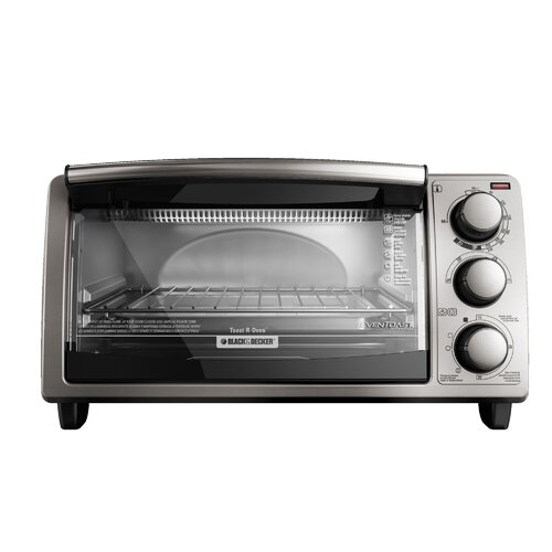 ... Black And Decker 4 Slice Toaster Oven Countertop Tattoo Design Bild