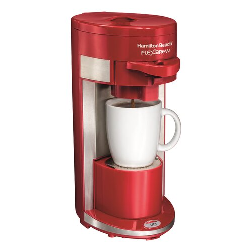 Coffee Maker Reviews Single Serve : Hamilton Beach Flex Brew Single Serve Coffee Maker & Reviews Wayfair