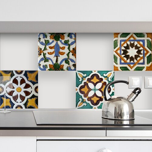 Wall Decorations Peel And Stick : Nature peel and stick tiles wall decal wayfair