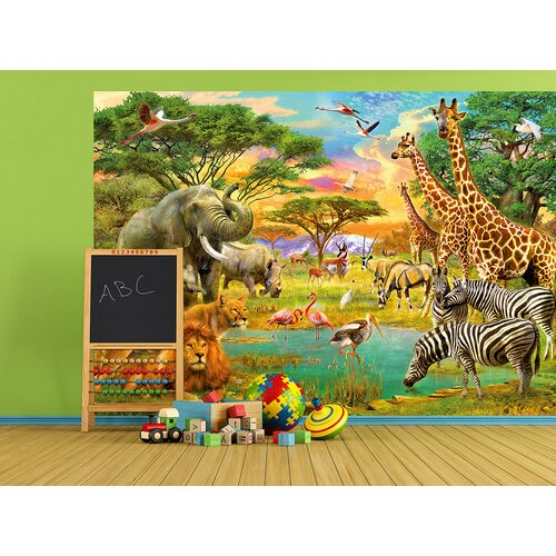 wallpops on safari wall mural reviews wayfair
