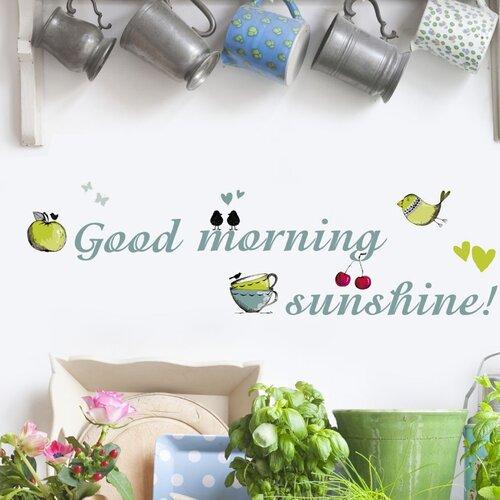 Brewster Home Fashions Euro Good Morning Sunshine Wall