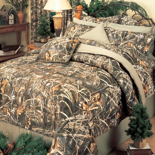 realtree max 4 4 piece comforter set reviews wayfair 12096 | realtree bedding max 4 4 piece comforter set 07141000080km