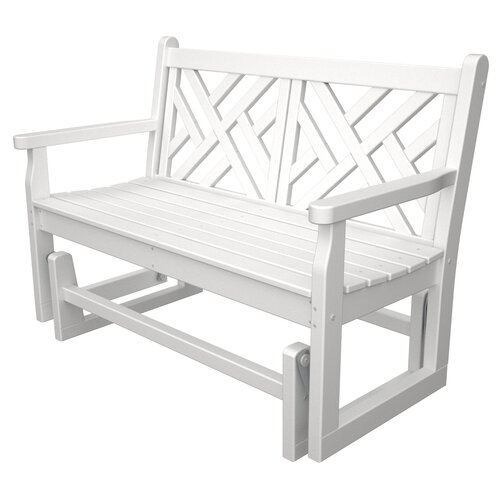 Polywood Chippendale Glider Reviews Wayfair