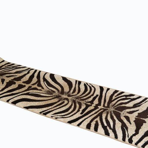 Tribeca Zebra Print Runner Area Rug