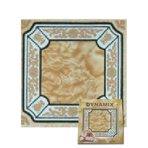 "Dynamix Vinyl Tile 1009: Home Dynamix 12"" X 12"" Luxury Vinyl Tile In Creme Fancy"