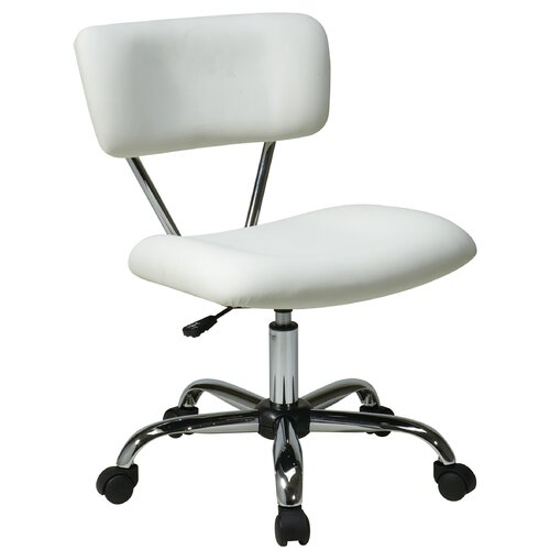 Ave Six Vista Adjustable Mid-Back Office Chair