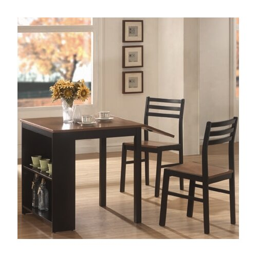 Wildon home 3 piece dining set with drop leaf reviews for Wildon home dining