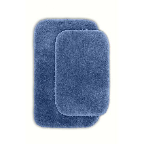 Wildon Home Devnet 2 Piece Blue Bath Rug Set Reviews Wayfair
