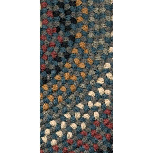 Rajura Hand Crafted Teal Grey Indoor Outdoor Area Rug