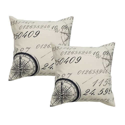 Throw Pillows With Numbers On Them : Wildon Home Number Cotton Throw Pillow & Reviews Wayfair