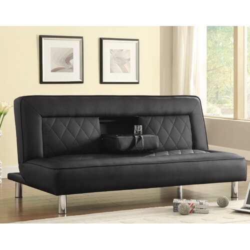 Leather Sleeper Sofa By Wildon Home