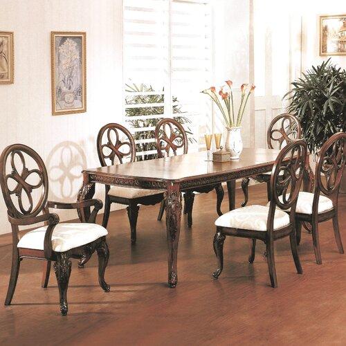 Wildon home cassandra 7 piece dining set reviews wayfair for Wildon home dining