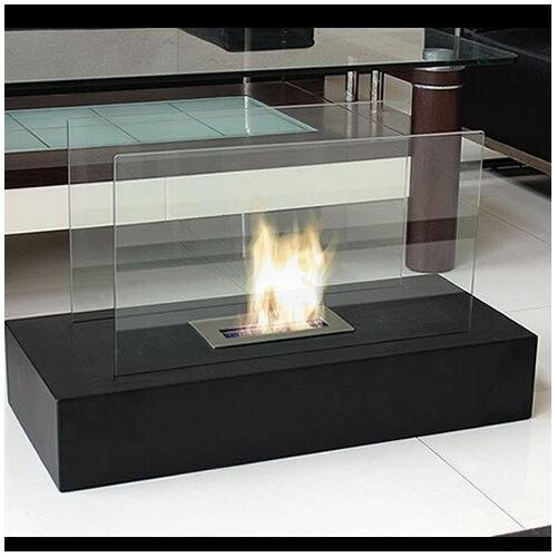 nu flame fiamme freestanding bio ethanol fuel fireplace