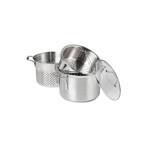 Calphalon Simply Stainless Steel 8 Qt Multi Pot With