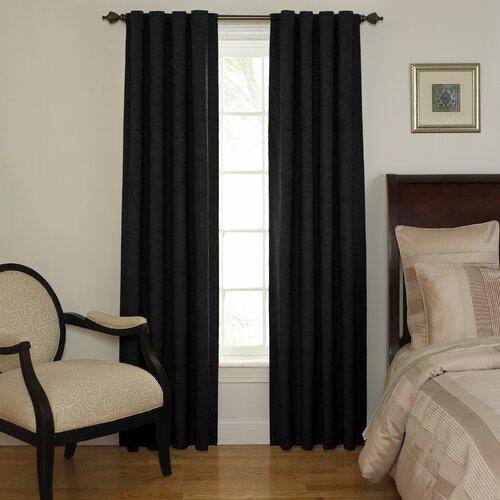 Sound Asleep Room Darkening Rod Pocket Window Single Curtain Panel ...