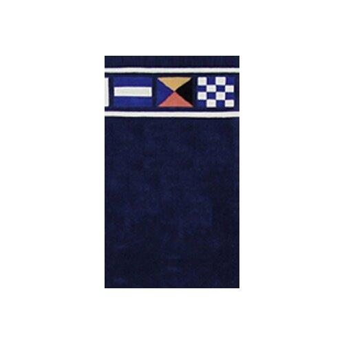 Signal Flag Rug: Beach Rug Nautical Flags Novelty Rug