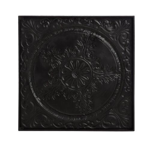 Bronze Medallion Metal Wall Décor