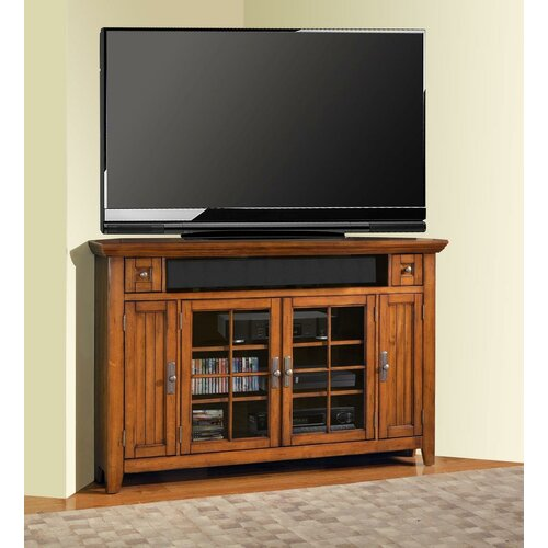 parker house terrace corner tv stand reviews wayfair. Black Bedroom Furniture Sets. Home Design Ideas