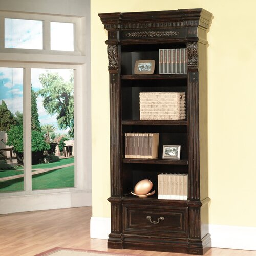 "Parker House Grand Manor 94 5"" Standard Bookcase & Reviews"