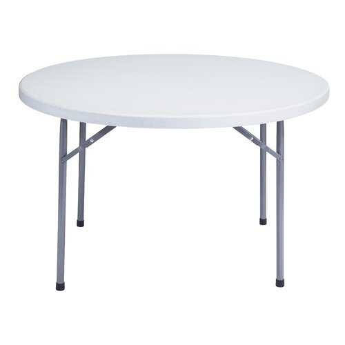 "National Public Seating 48"" Round Folding Table"