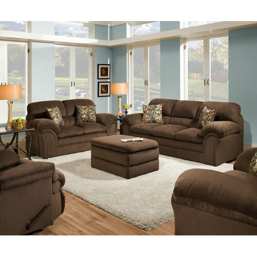 Simmons upholstery harper sofa reviews wayfair for Simmons living room furniture