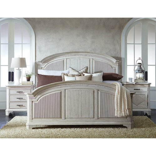 Murphy Bed Nfm: Riverside Furniture Aberdeen Reeded Panel Bed & Reviews