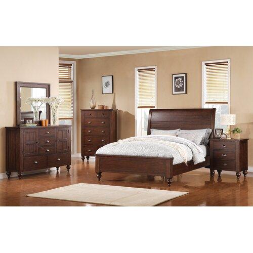 Riverside Furniture Castlewood Panel Customizable Bedroom ...
