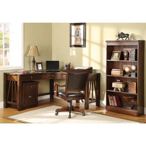 """Riverside Furniture Castlewood 60"""" Standard Bookcase"""