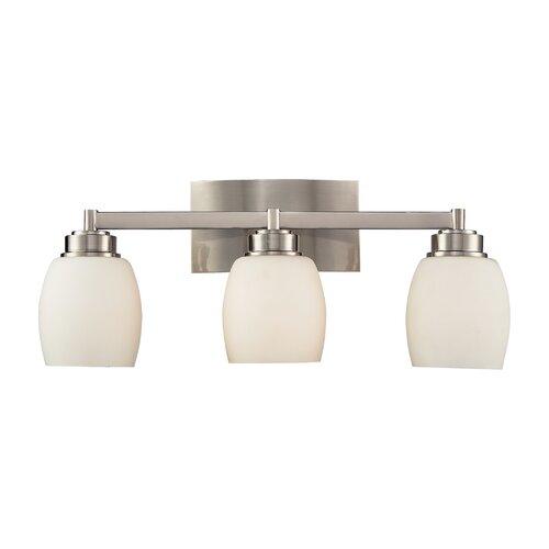Bathroom Vanity Lights Reviews : Elk Lighting Northport 3 Light Bathroom Vanity Light & Reviews Wayfair