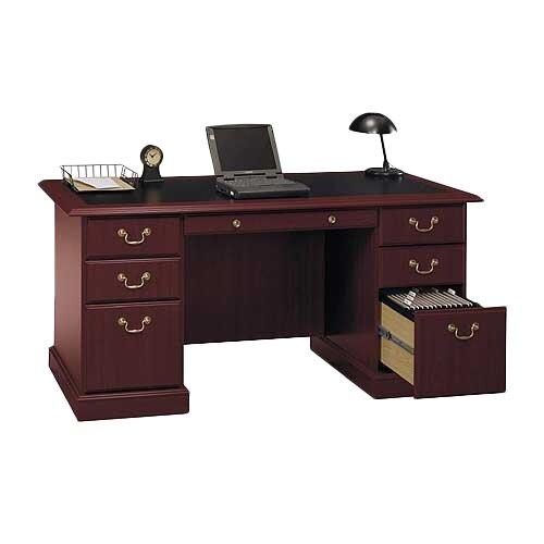 Bush Industries Saratoga Executive Desk Amp Reviews Wayfair