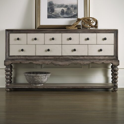 Hall Console Table : Hall Console Table by Hooker Furniture