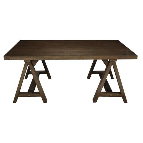 Simpli Home Sawhorse Coffee Table Reviews Wayfair