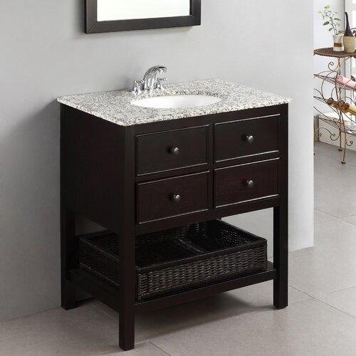 Simpli Home Burnaby 30 Single Bathroom Vanity Set